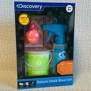Discovery Deluxe Chalk Blast Set Kids Summer Toy